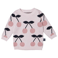 Huxbaby Cherry Knit Jumper