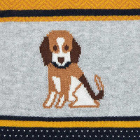 Mayoral Baby Boys Dog Sweater - Yellow