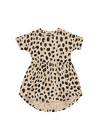Huxbaby Organic Animal Spot Swirl Dress