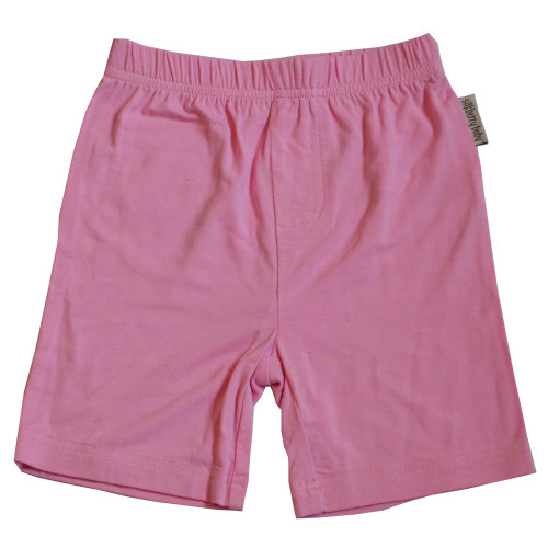 Silkberry Baby - Bamboo Shorts with Back Pocket, Pink