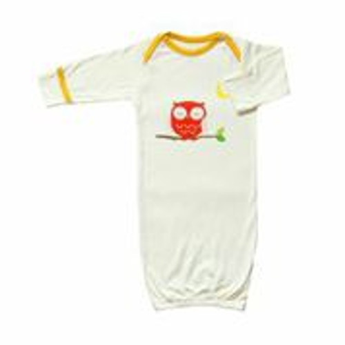 Babysoy - Soy/Organic Cotton Blend Bundler, Owl/Sunshine