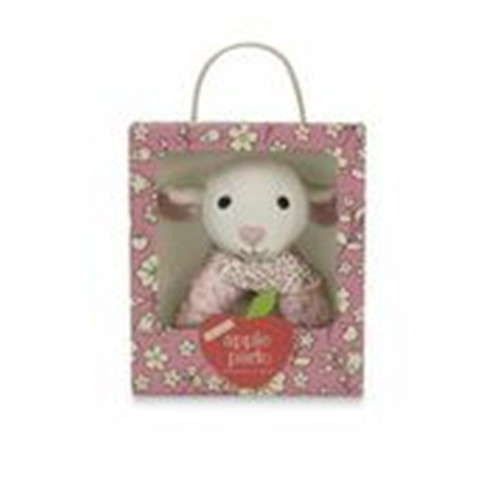 Apple Park - Organic Patterned Rattle, Lamby