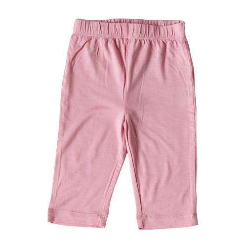 Silkberry Baby - Bamboo Jersey Pants, Cotton Candy