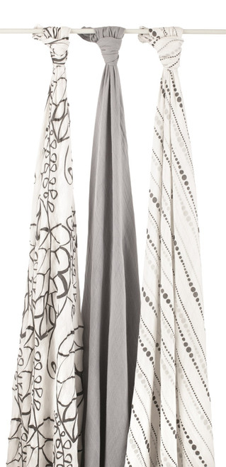 aden + anais Bamboo Muslin Multi Purpose Swaddles, Moonlight