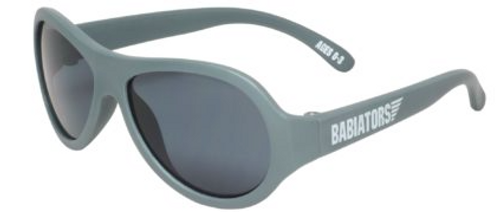 Babiators Nondestructable UV Protected Aviators - Galactic Gray