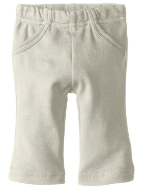 L'ovedbaby 100% Organic Cotton Lounge Pants, Stone Front