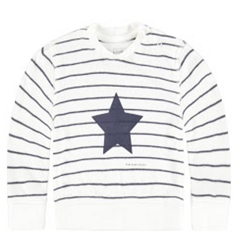 Bellybutton Sweatshirt, Stripe Star