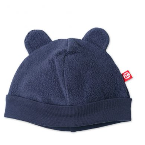 Zutano Cozie Fleece Hat, Navy