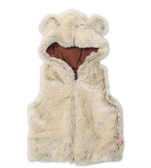 Zutano Shaggy Vest With Ears - TOFF - BB