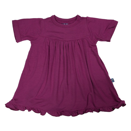 Kickee Pants Basic Short Sleeve Swing Dress, Orchid (No Keyhole)