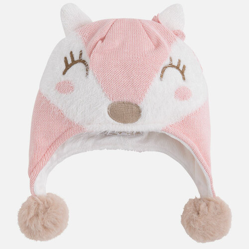 Mayoral Baby Girls Sweet Fox Hat, Pink