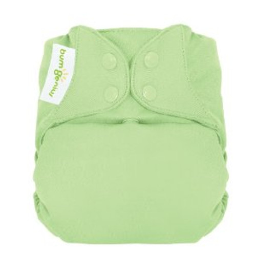 bumGenius Freetime All-in-One Cloth Diaper, Grasshoper