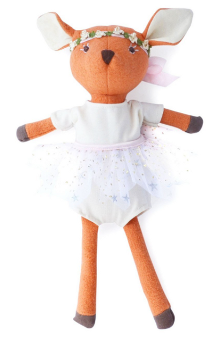 Hazel Village - Phoebe Fawn in Sparkle Tutu Outfit