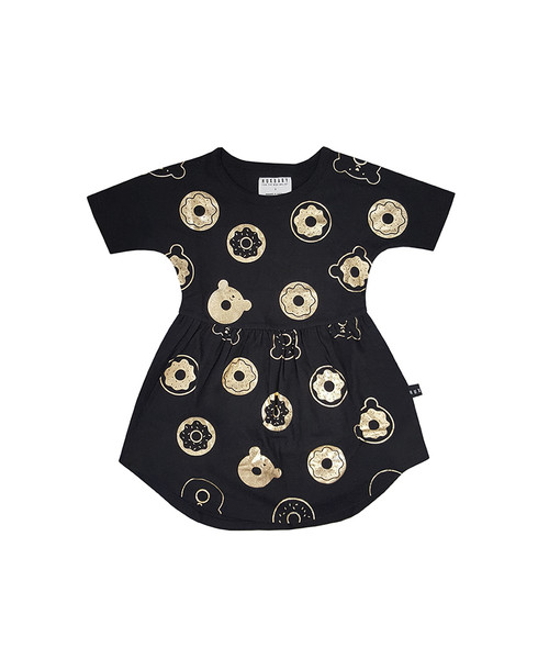 Huxbaby Organic Cotton Donut Swirl Dress