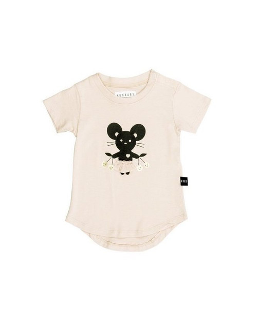 Huxbaby Organic Cotton Mouse T-Shirt
