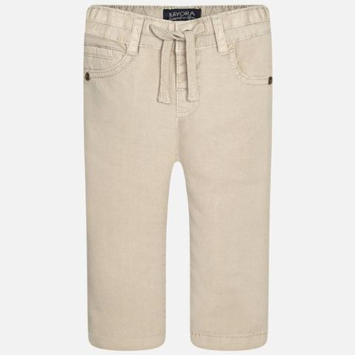 Mayoral Baby Boys Twill Long Trousers - Sand