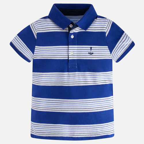 Mayoral Boys Striped Polo - Persian