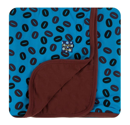 Kickee Pants Print Stroller Blanket - Amazon Coffee Beans