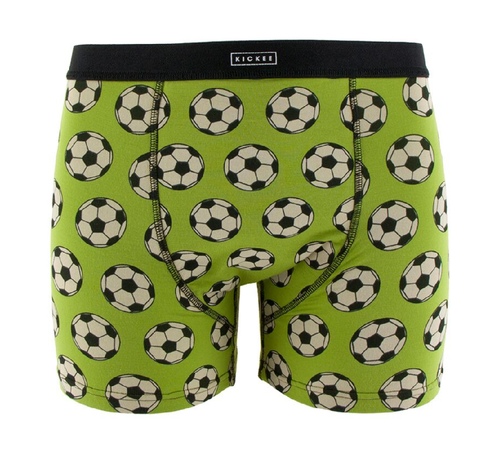 Kickee Pants Print Men's Boxer Brief - Meadow Soccer