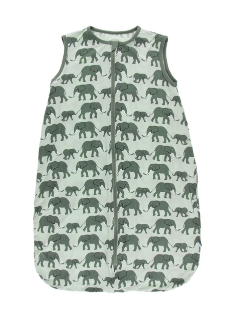 Kickee Pants Printed Lightweight Sleeping Bag - Aloe Elephant