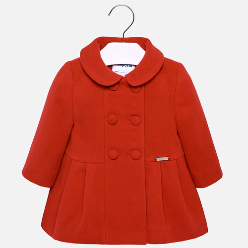 Mayoral Girls Coat - Red