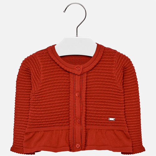 Mayoral Baby Girls Cardigan - Red