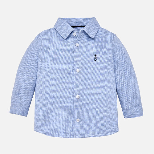 Mayoral Baby Boy Shirt - Light Blue