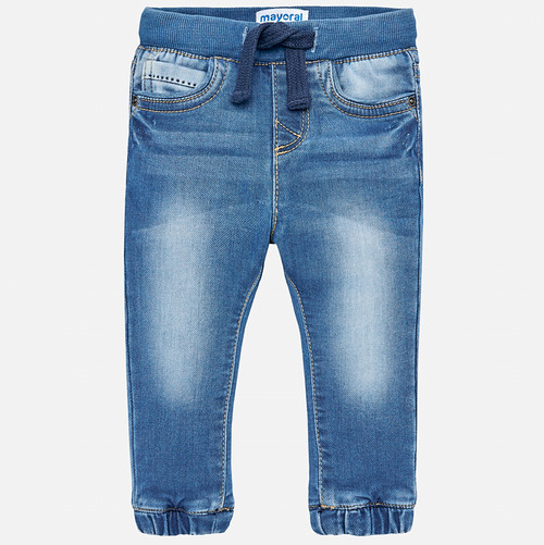 Mayoral Baby Boys Denim Joggers - Basic