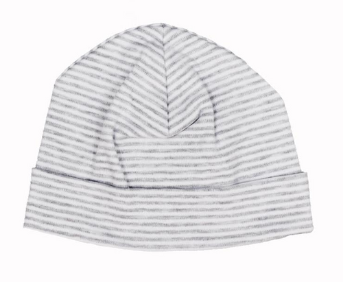 Kissy Kissy Grey Essentials Stripe Hat