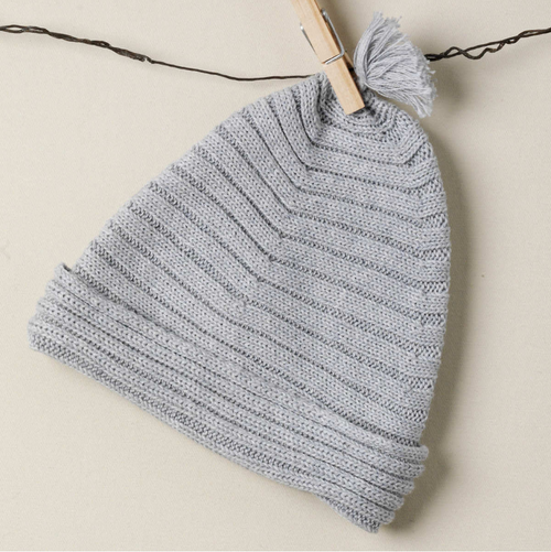 TANE Horizontal Rib Hat - Graphite