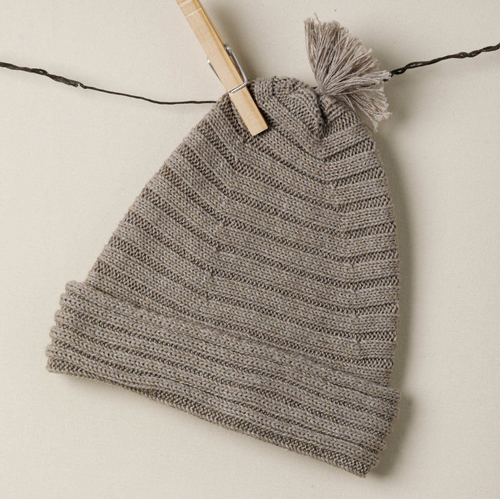 TANE Horizontal Rib Hat - Earth