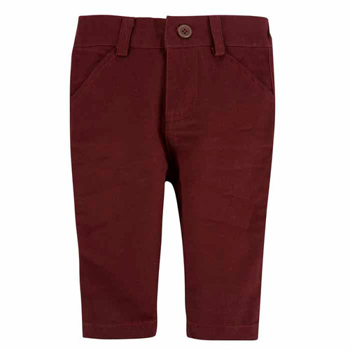 Andy & Evan Oh-What-A-Twill Pant - Maroon