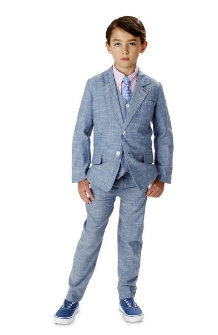 Andy & Evan The Ronnie Reed Chambray 2-Piece Set