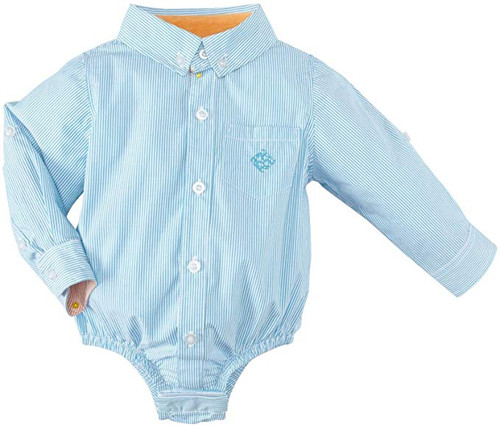 Andy & Evan Stars & Stripes Shirtzie - Teal