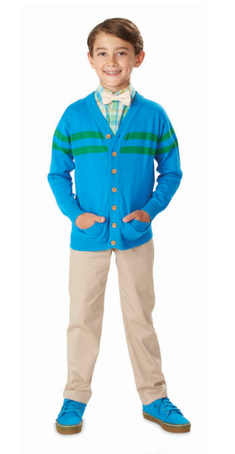 Andy & Evan The Fred Rogers Cardigan - Teal