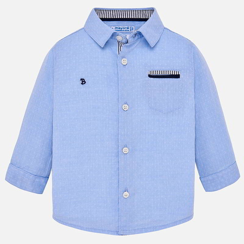 Mayoral Baby Boy Shirt - Sky Blue