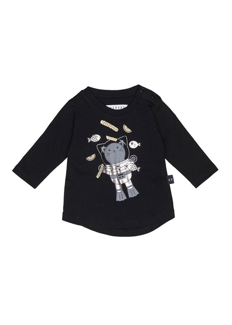 Huxbaby Organic Chip Diver L/S Top