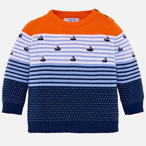 Mayoral Baby Boys Color Block Sweater