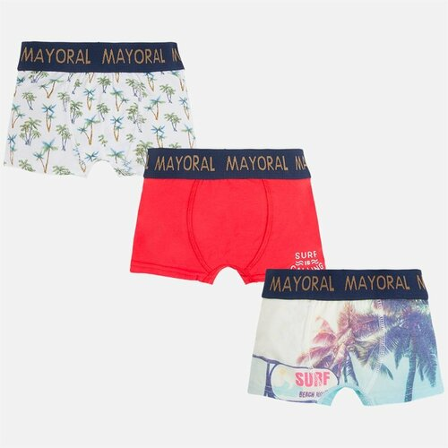 Mayoral Boys Trunks Set of 3 - Red