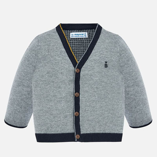 Mayoral Baby Boys Rock Knit Cardigan