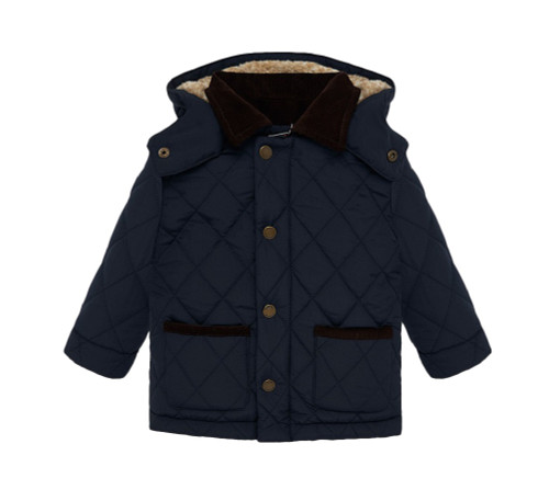 Mayoral Boys Navy Padded Coat