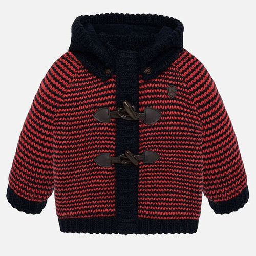 Mayoral Baby Boys Pumpkin Knit Pullover
