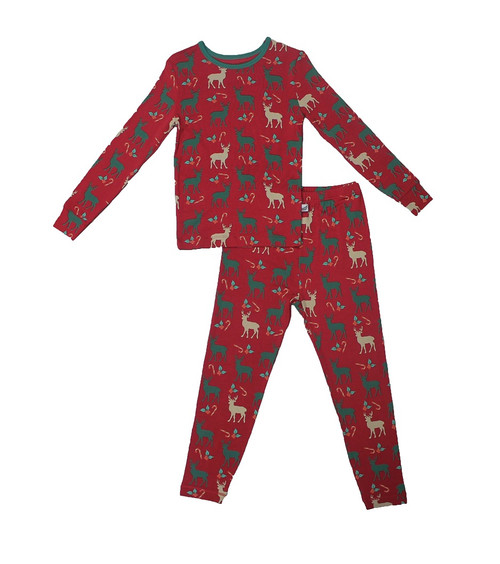 Holiday Reindeer Pajama Set