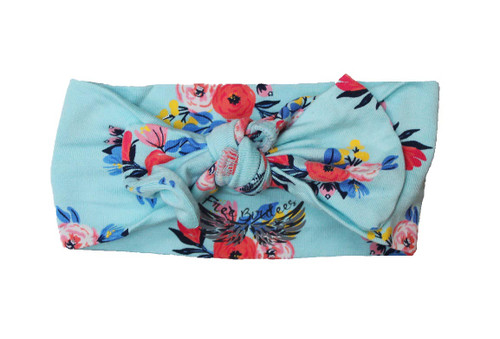 Free Birdees Azure Floral Hair Bow