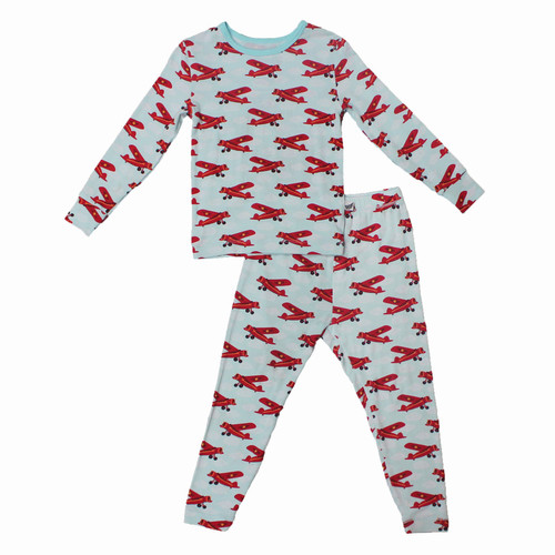 Atlantic Blue Aviator Pajama Set