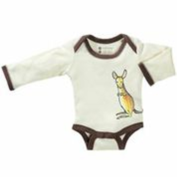 Babysoy - Soy/Organic Cotton Blend Bodysuits, Jane Goodall Mala