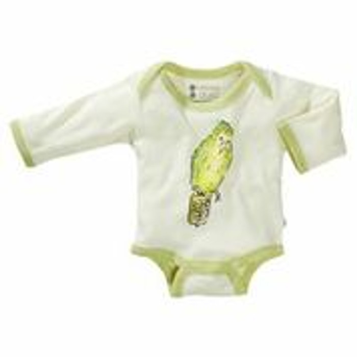 Babysoy - Soy/Organic Cotton Blend Bodysuits, Jane Goodall Kakapo