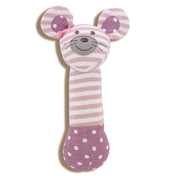 Apple Park - Organic Cotton Ballerina Mouse Squeaky Toy