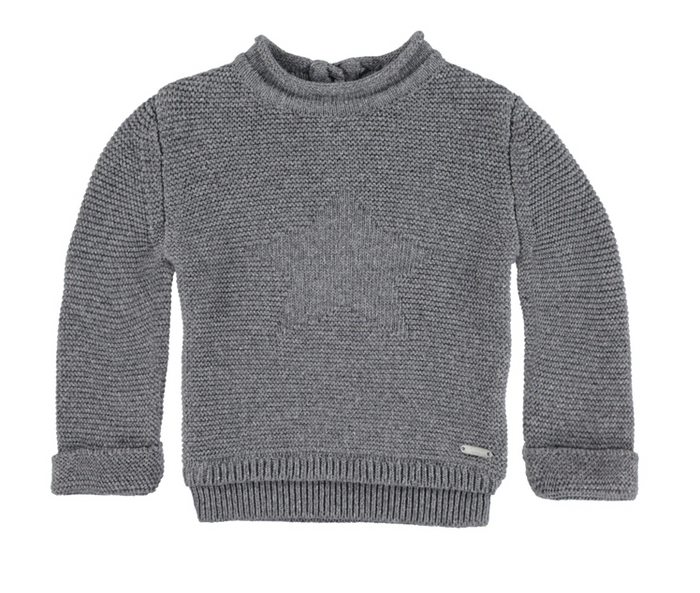 Bellybutton Pullover, Cotton Knit