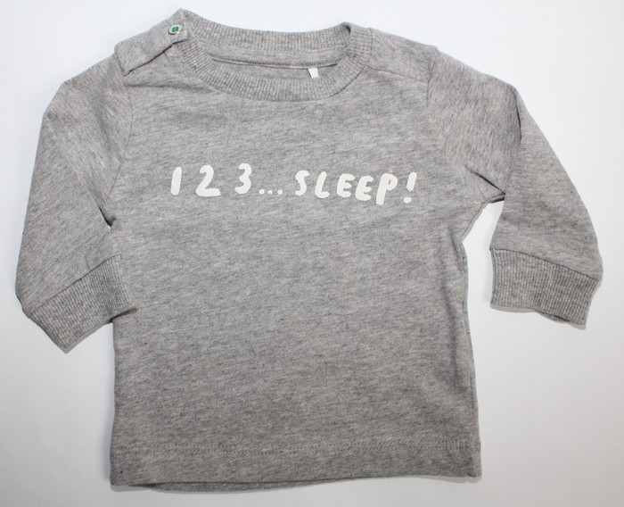 Imps & Elfs Long Sleeve 123... T-Shirt, Grey Melange